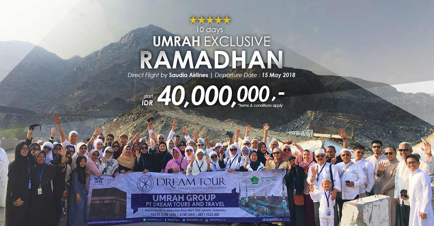 umroh, paket umroh, Paket Umroh Awal Ramadhan 2018, pt dream tour and travel