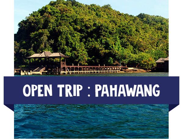 paket wisata open trip pahawang